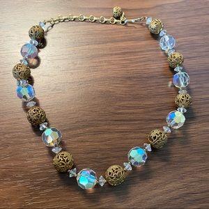 Vintage Gem Necklace